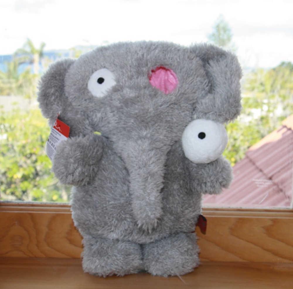 Elli – a toy elephant created for retinoblastoma children.